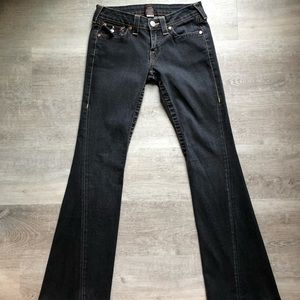 True Religion 'Joey' flare jeans size 28